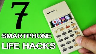7 New Smartphone LifeHacks and Gadgets!