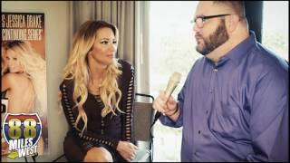 Jessica Drake interview at the Adult Entertainment Expo 2017