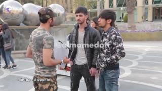 Ermenistana raket zerbesi/Ракетный удар по Армении/social experiment