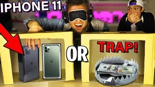 UNBOX IPHONE 11 OR TRAP (WHATS IN THE BOX CHALLENGE) Unboxing Iphone 11 Pro Max