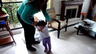 Primeros Pasos de Daniela Martinez Rondon
