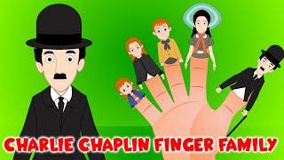 Charlie Chaplin Finger Family Song | Historic Finger Family for Kids