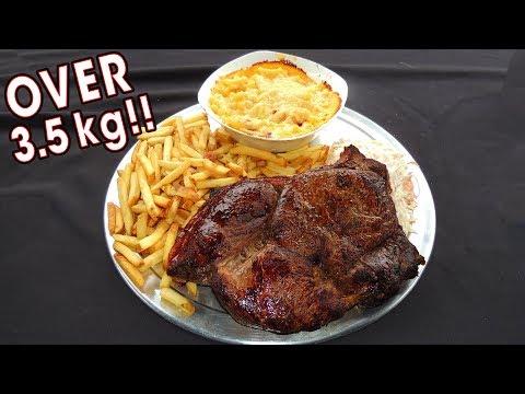 Undefeated English Steak Challenge near Manchester