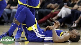 Is Kevin Durant Making His Injury Sound Worse Than It Is? | Huddle