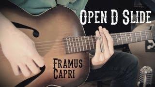 Slide Guitar - Open D Blues HD