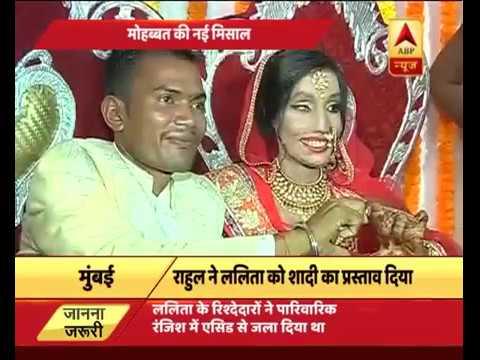 Xxx Mp4 Acid Attack Victim Lalita Gets Married In Mumbai 3gp Sex