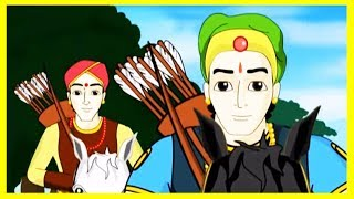Two Friends & A Princess Hindi Story For Kids