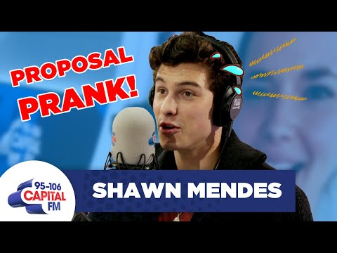 Shawn Mendes Ruined A Couple s Wedding Proposal On Radio
