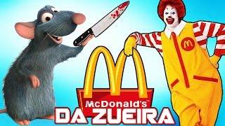 McDonalds da ZUEIRA - Ratos no Lanche, X-Ratão Gigante, Super-Rato