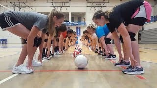 BEST VOLLEYBALL TRAINING GAMES (HD) #3