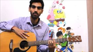 Don't Be Scared From Bar Chords They r Easy - Hindi Guitar lesson Bar chords beginners
