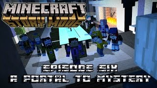 Minecraft: Story Mode | Episode 6: A Portal To Mystery [ No Commentary - Full Episode ]
