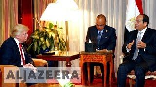 Egypt's President Sisi to meet Donald Trump
