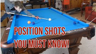Position Shots you MUST MASTER in Pool!
