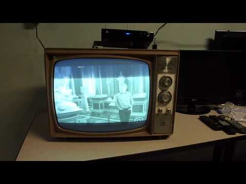 My 1965 Magnovox 19 Inch Black And White TV