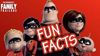 The Incredilbes | Fun Facts from Disney Pixar Family Movie