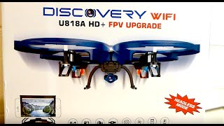 Review: UDI U818A WiFi FPV RC Quadcopter Drone with HD Camera