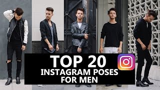 Top 20 Latest Poses for Male Models  Washim Biswas 