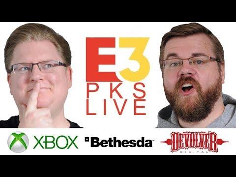 Xbox Bethesda & Devolver Digital PKs E3 2018 LIVE mit Piet & Chris
