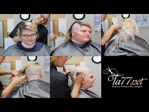 Xxx Mp4 TA77 Net Video Trailer Autumn 3 LV 2018 She Shaves Her Head At A Barber 3gp Sex