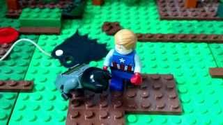 Lego Captain America vs Batman