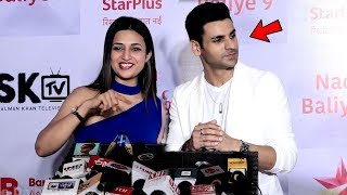 Divyanka Tripathi Makes FUN of Hubby Vivek Dahiya At Nach Baliye 9 Success Party