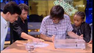 El Hormiguero con Jakie Chan Will Smith parte Karate Kid 2010 Parte 3