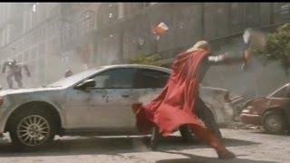 Thor & Captain America Fight Scene (The Avengers MAKING OF)