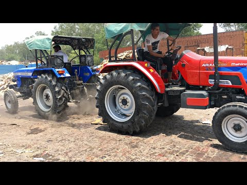 Xxx Mp4 Mahindra Arjun Novo 605Di Vs Sonalika 750 Di Tractor Tochan In Haryana 3gp Sex