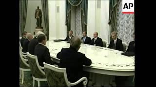 Putin meets German FM Steinmeier
