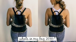 WHAT'S IN MY PURSE 2016   OLIVIA JADE