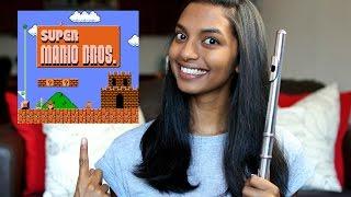 Super Mario Bros Theme - Flute Cover