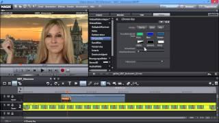 Blue- und Greenscreen-Effekte - MAGIX Video deluxe 2014
