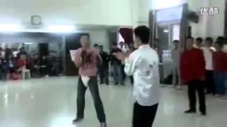 Wing Chun vs Karate Real  Fight