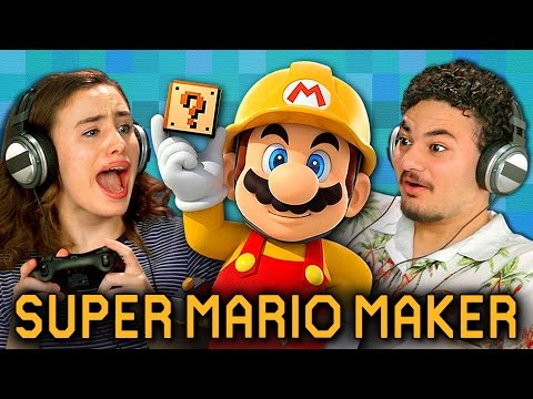 SUPER MARIO MAKER Teens React Gaming