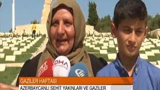 Azerbaycanlı Şehit Yakınları ve Gazilerin Gelibolu
