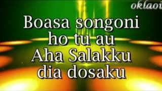 SEGA MA AU ALANI HO . Cipt / vocal : Eddys.sihombing