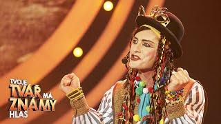 Petr Vondráček jako Boy George –