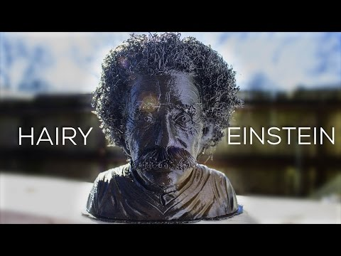 Xxx Mp4 Hairy Einstein How To 3D Print With Hair HairyPrints Challenge 3gp Sex