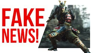 The internet has been LYING TO YOU about FOR HONOR!?