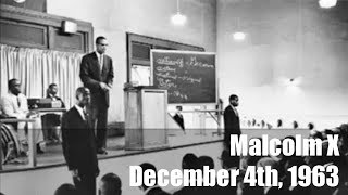 Malcom X || Warning Black America About Liberals