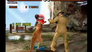 Tekken 5 all Roger Jr's  10 hit move combos