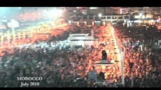 Tamer Hosny concert in morocco July 2010 حفل تامر حسني بالمغرب