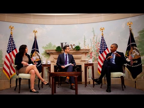 watch President Barack Obama interview with Ezra Klein and Sarah Kliff about Obamacare