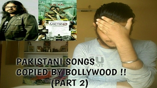 Pakistani songs copied by Bollywood(Part 2)   Ep 8  Pritam special   Plagiarism in bollywood music
