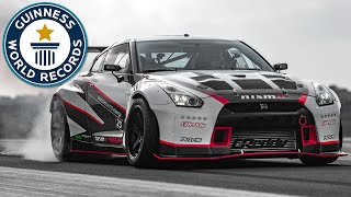 Fastest Drift - Nissan Middle East FZE sets world record