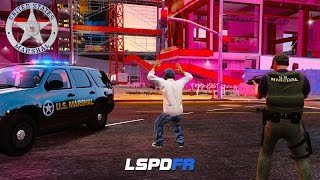 GTA 5 LSPDFR - US Marshal Division - Escaped Convict