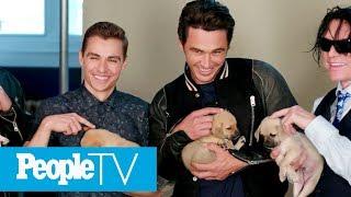 Benedict Cumberbatch, James & Dave Franco, Idris Elba & More Play With Puppies | PeopleTV