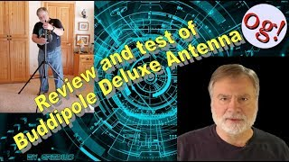 Review and test of Buddipole Deluxe Antenna (HRA #181)