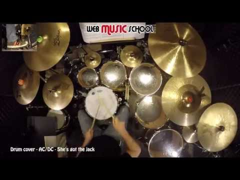 AC/DC - She's got the jack - DRUM COVER